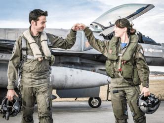 """Το ΝΑΤΟ """"χτίζει"""" μια ισχυρή αεροπορία στα Βαλκάνια"""