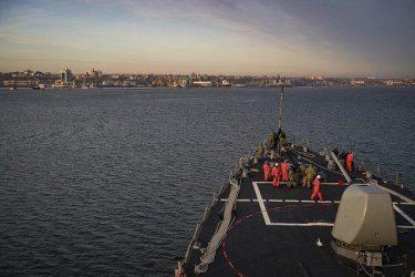 Στην Οδησσό το USS Donald Cook
