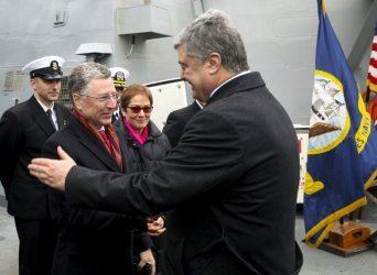 Πέτρο Ποροσένκο – Οι ΗΠΑ στην Μαύρη Θάλασσα μετά από αίτημα μας