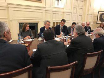 Συνεχίζεται Στρατηγικός Διάλογος Ελλάδας – ΗΠΑ