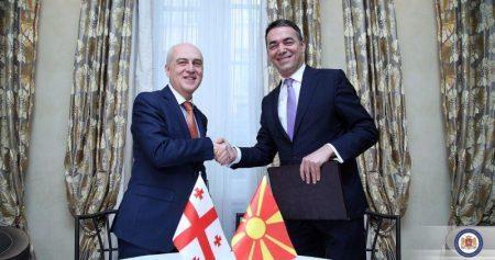 Η Γεωργία συγχαίρει τον Ντιμιτρόφ για την είσοδο της χώρας του στο ΝΑΤΟ