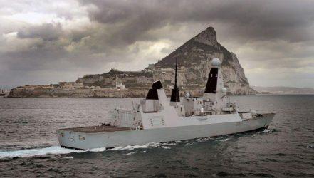 Επεισόδιο μεταξύ Ισπανικών και Βρετανικών πολεμικών πλοίων στο Γιβραλτάρ
