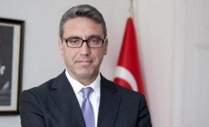 Μπουράκ Οζούγκερτζιν (Πρέσβης Τουρκίας) –  Ως γείτονες πρέπει να διατηρούμε πάντα τα κανάλια διαλόγου ανοικτά