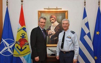 Συνάντηση με τον ΑΓΕΕΘΑ Χρ. Χριστοδούλου είχε ο Τζ. Πάιατ