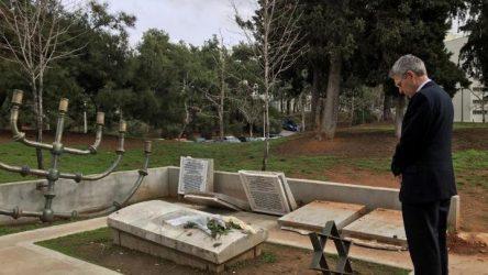 Τζέφρι Πάιατ -Να διατηρηθεί ζωντανή η μνήμη του Ολοκαυτώματος