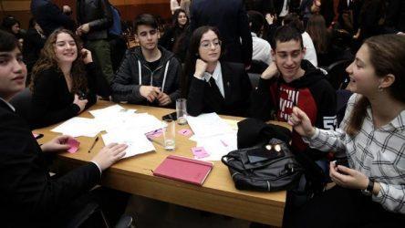 Μαθητές από την Ελλάδα και το Ισραήλ στο πρόγραμμα «Ισραηλινό Κέντρο για Νέους Ηγέτες»