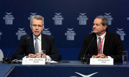 Delphi Economic Forum – Ambassador Geoffrey R. Pyatt's Conversation with Tom Ellis