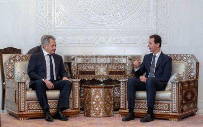 Ο Ρώσος υπουργός Άμυνας παρέδωσε στο Ασαντ επιστολή του Πούτιν