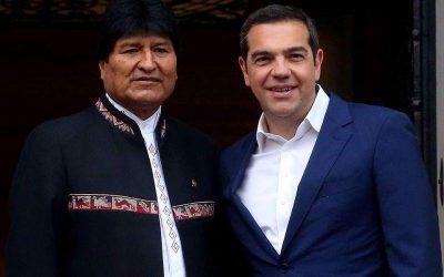 Τσίπρας – Στηρίζουμε τη Βολιβία για το ζήτημα πρόσβασης στη θάλασσα