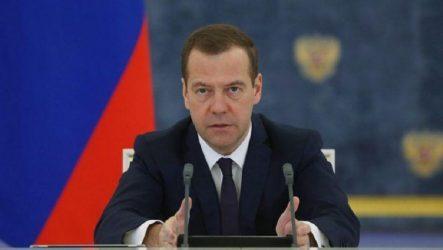 Μεντβέντεφ: Ευκαιρία για βελτίωση της συνεργασίας Ρωσίας-Ουκρανίας η εκλογή Ζελένσκι