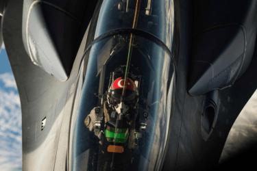 Τουρκικά F-16 πάνω από τις Οινούσσες και τη νήσο Παναγιά