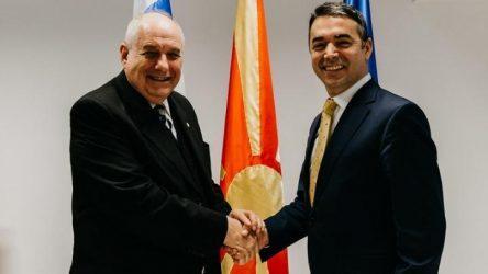 Επίσκεψη ΥΦΥΠΕΞ Τέρενς Κουίκ στα Σκόπια