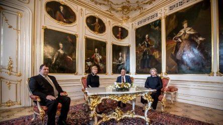 """Πρόεδροι Τσεχίας και Κροατίας – Σημαντική η """"Πρωτοβουλία των Τριών Θαλασσών"""""""