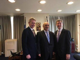 Συνάντηση Μπόλαρη με τον Αμερικανικό ΥΠΕΞ για θέματα Θρησκευτικής Ελευθερίας