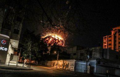 Λωρίδα της Γάζας – Το Ισραήλ βομβάρδισε τα γραφεία του Τουρκικού Πρακτορείου Anadolu