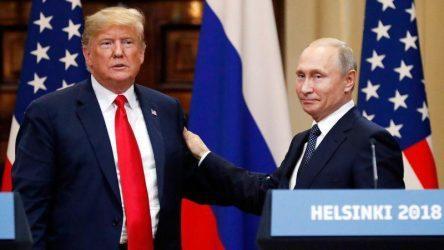Ο Τραμπ προτείνει βοήθεια στον Πούτιν για τις πυρκαγιές στη Σιβηρία