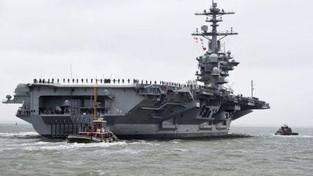 Το αεροπλανοφόρο «USS Abraham Lincoln στέλνουν οι ΗΠΑ στον Περσικό Κόλπο