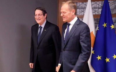 Στήριξη Τουσκ και Μέρκελ στην Κύπρο για τις παράνομες γεωτρήσεις της Τουρκίας