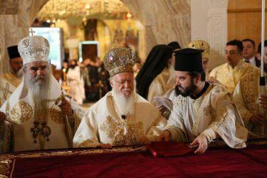 Στήριξη του Οικουμενικού Πατριαρχείου στον νόμιμο ιεράρχη του Μαυροβουνίου