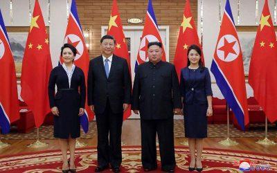 Συνάντηση Κιμ Γιονγκ Ουν – Σι Τζινπίνγκ
