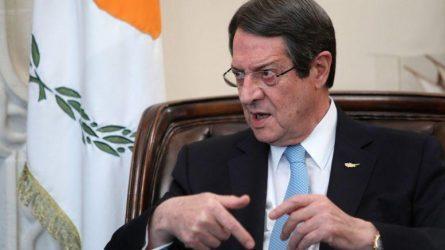 Νίκος Αναστασιάδης: Να σταλούν ισχυρότερα μηνύματα προς την Αγκυρα