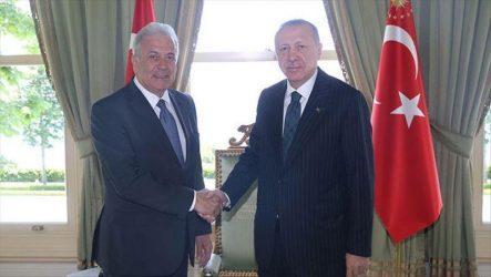 Με τον Τούρκο Πρόεδρο συναντήθηκε ο Ευρωπαίος επίτροπος Μετανάστευσης