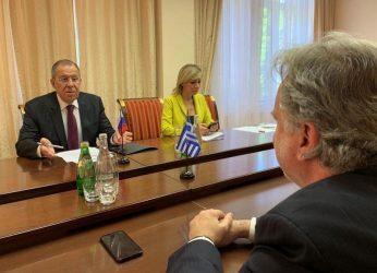 Υπουργός Εξωτερικών -Οι σχέσεις Ελλάδας-Ρωσίας θα ενισχυθούν σε όλους τους τομείς
