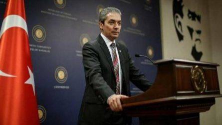 Εκπρόσωπος του τουρκικού ΥΠΕΞ –  Η Ελλάδα παραβιάζει τη Συνθήκη της Λωζάνης στην Θράκη