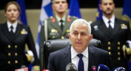 Αποστολάκης: Οι Ένοπλες Δυνάμεις είναι σε ετοιμότητα