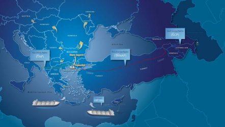 Ο αγωγός BRUA ενώνει τον TAP με την κεντρική Ευρώπη και ολοκληρώνει τον Νότιο Διάδρομο
