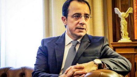 Χριστοδουλίδης: Οι τουρκικές προκλήσεις στην Κύπρο, τη Συρία και τη Λιβύη προκαλούν αποσταθεροποίηση