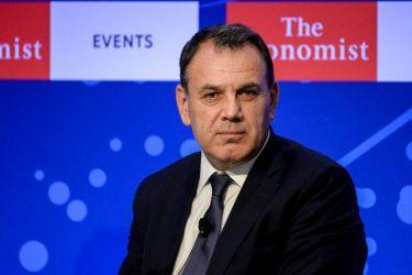 Υπουργός Άμυνας: Διαστρεβλώθηκαν όσα δήλωσα στο συνέδριο του ECONOMIST για την συμφωνία των Πρεσπών