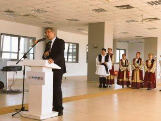 Στην τελετή σύνδεσης Τσεσμέ-Λαύριο ο Τούρκος Πρέσβης στην Αθήνα