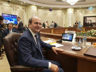 Χατζηδάκης – Πέρι: Στρατηγικής σημασίας ο East Med
