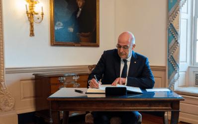 Ο Νίκος Δένδιας στη συζήτηση του Συμβουλίου Ασφαλείας για τα 75 χρόνια από τη λήξη του Β' Παγκοσμίου Πολέμου