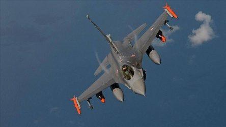 Μπαράζ παραβιάσεων του εθνικού εναέριου χώρου από τουρκικά F-16