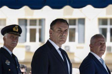 Υπουργός Άμυνας: Το Αιγαίο έχει σύνορα και υπάρχουν «κόκκινες γραμμές»