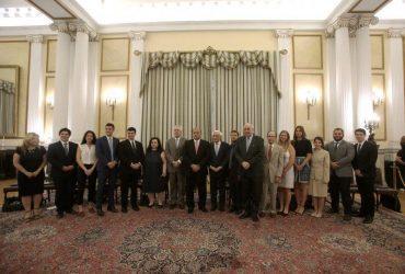 Συνάντηση Παυλόπουλου με φοιτητές του Αμερικανο-Ελληνικού Ινστιτούτου στο Προεδρικό Μέγαρο