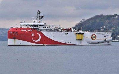 Τον Αύγουστο στέλνει στη Μεσόγειο το «Ορούτς Ρέις» η Τουρκία