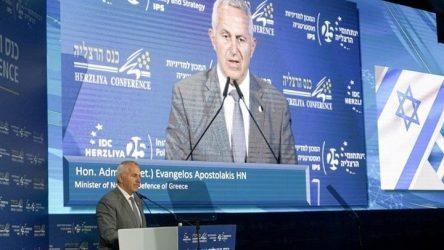 Υπουργός Άμυνας: Απαιτείται συντονισμένη συνεργασία περιφερειακών και διεθνών συμμάχων στην Αν.Μεσόγειο