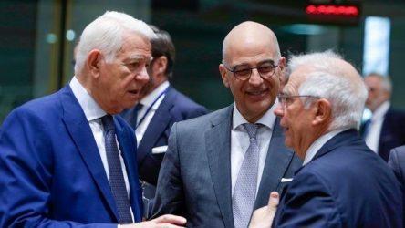 Ικανοποίηση Ν. Δένδια για την «ομόφωνη τοποθέτηση» των ΥΠΕΞ της ΕΕ στο ζήτημα των τουρκικών γεωτρήσεων στην Κύπρο