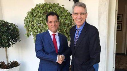 Τζεφρι Πάιατ: Σημαντικά περιθώρια ανάπτυξης των ελληνοαμερικανικών σχέσεων