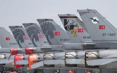 Υπερπτήσεις τουρκικών αεροσκαφών πάνω από Ελληνικά νησιά