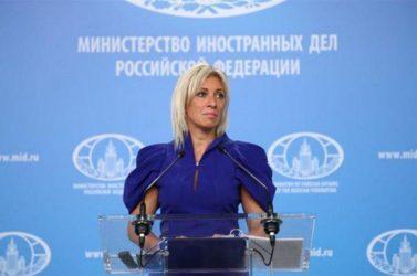 Μαρία Ζαχάροβα: Καταδικάζουμε τις κυρώσεις της Ε.Ε στην Τουρκία