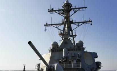 """Ένας """"ισχυρός φίλος"""" στην Θεσσαλονίκη – To αντιτορπιλικό USS McFaul (DDG-74) στον Θερμαϊκό"""