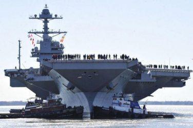 Το ναυτικό των ΗΠΑ «έτοιμο να κάνει ό,τι χρειαστεί» στη Βενεζουέλα