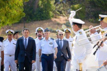 Παναγιωτόπουλος: Θα κάνουμε ό,τι μπορούμε ώστε οι Ένοπλες Δυνάμεις να είναι στο καλύτερο δυνατό σημείο