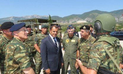 Παναγιωτόπουλος από την Ξάνθη: Οι Ένοπλες Δυνάμεις διασφαλίζουν την ασφάλεια της χώρας
