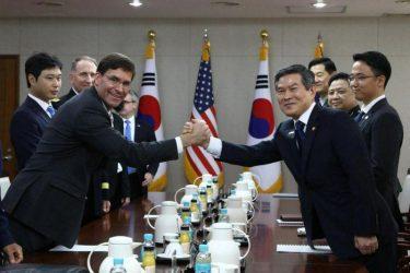 Οι ΗΠΑ ζήτησαν την συμμετοχή της Νότιας Κορέας στην ναυτική δύναμη στο Στενό του Χορμούζ