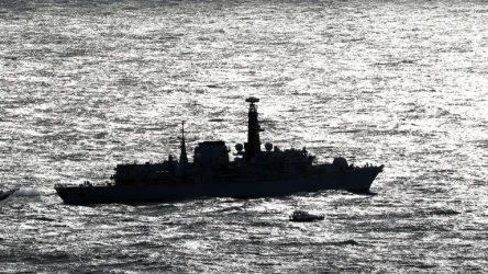 Η φρεγάτα του βρετανικού πολεμικού ναυτικού HMS Kent απέπλευσε για τον Περσικό Κόλπο